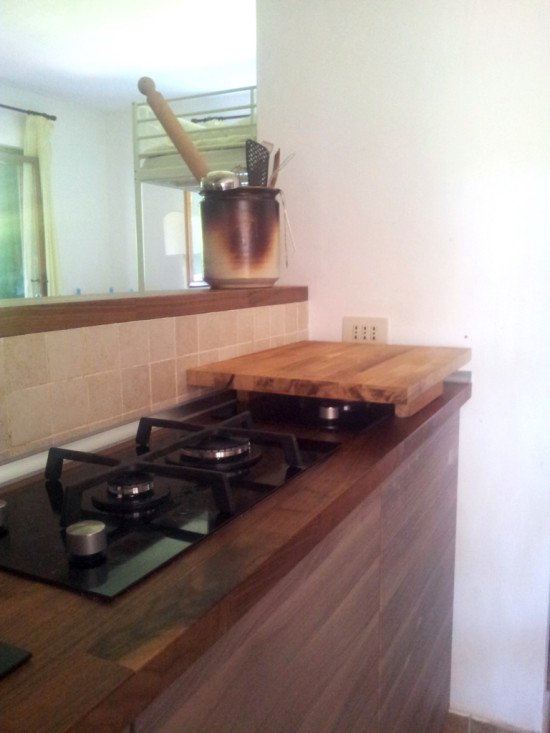 Ideas for a great little kitchen - cooking area