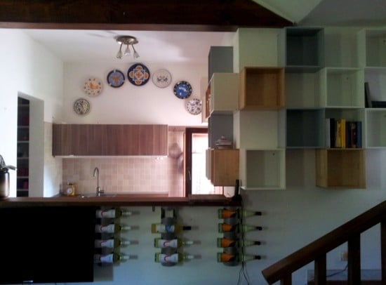 Ideas for a great little kitchen - storage area