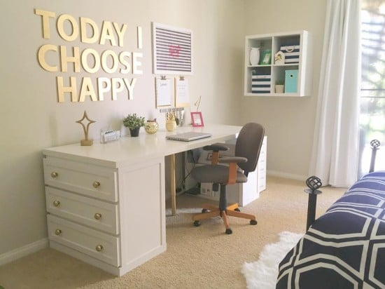 14 Inspiring Ikea Desk Hacks You Will Love Kaleidoscope Living