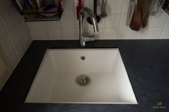 Undermount single-bowl Ikea Domsjö sink