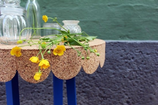 The FROSTA stool hacked into a cute table