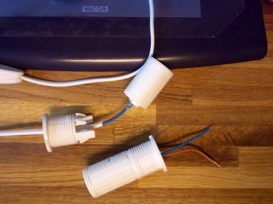 The lamp connectors
