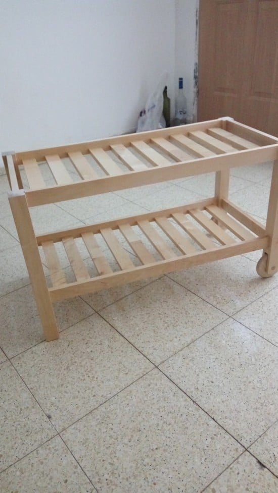 FORHOJA as a bench