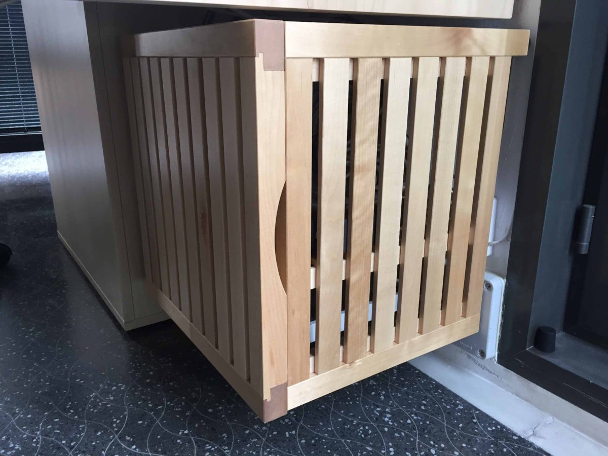 Normally The Server Boxes/cabinets Are Cold, Big And Made With Metallic  Parts. This Hack Offer A Properly Aired, Elegant And Soft/warm Solution.