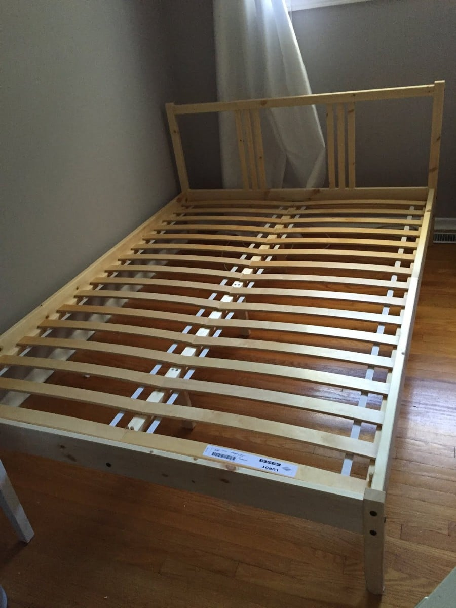 Building A Fabric Covered Bed Frame