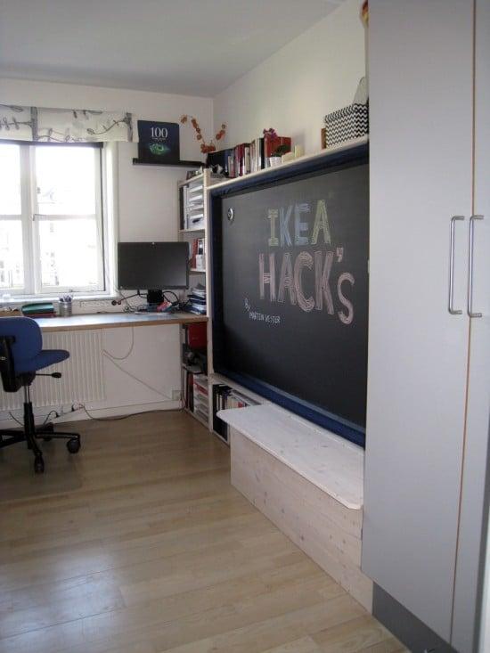 Hack an IVAR Murphy bed - IKEA Hackers - IKEA Hackers