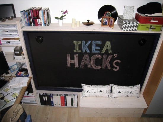 How to hack a DIY Murphy bed with desk