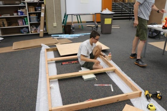 Maker space table-1