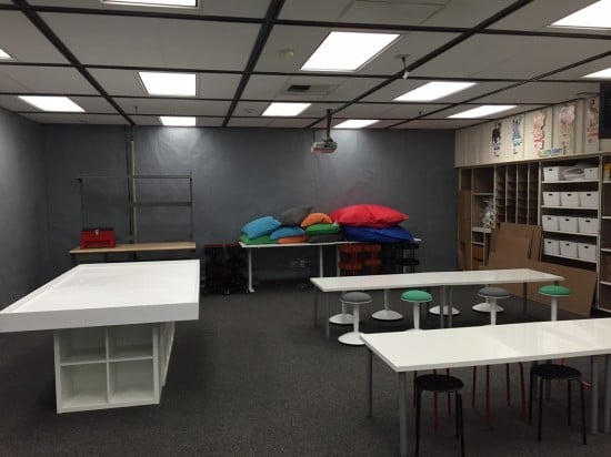 KALLAX Robotics/ Maker space table for elementary school