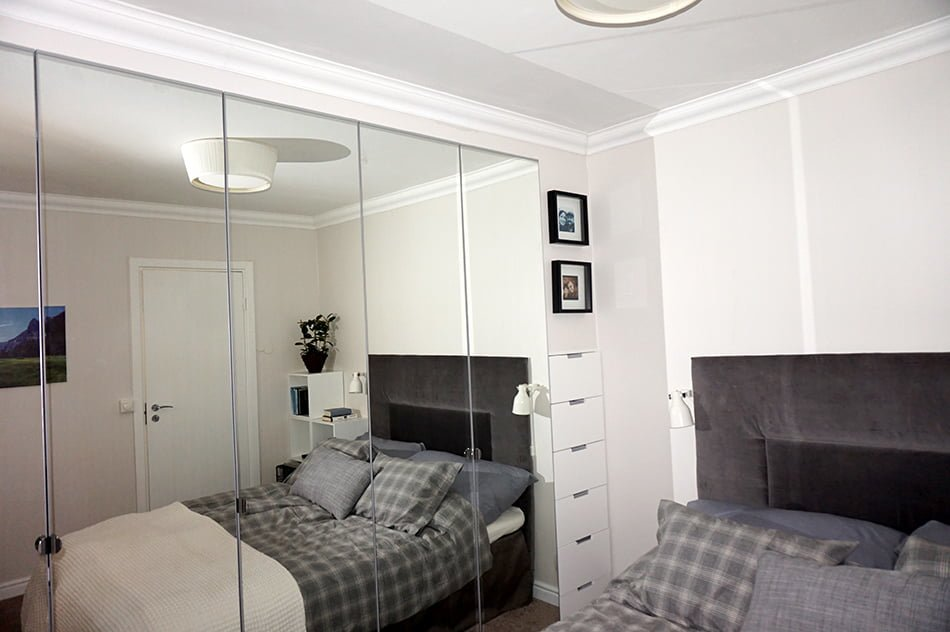Built in pax wardrobe and nightstand ikea hackers ikea for Mirror 40cm wide