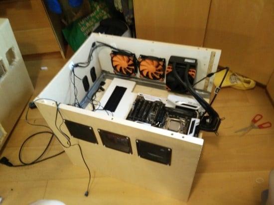gaming pc in drawer -4