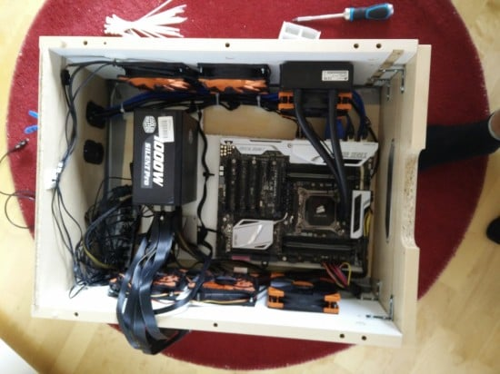 gaming pc in drawer -5