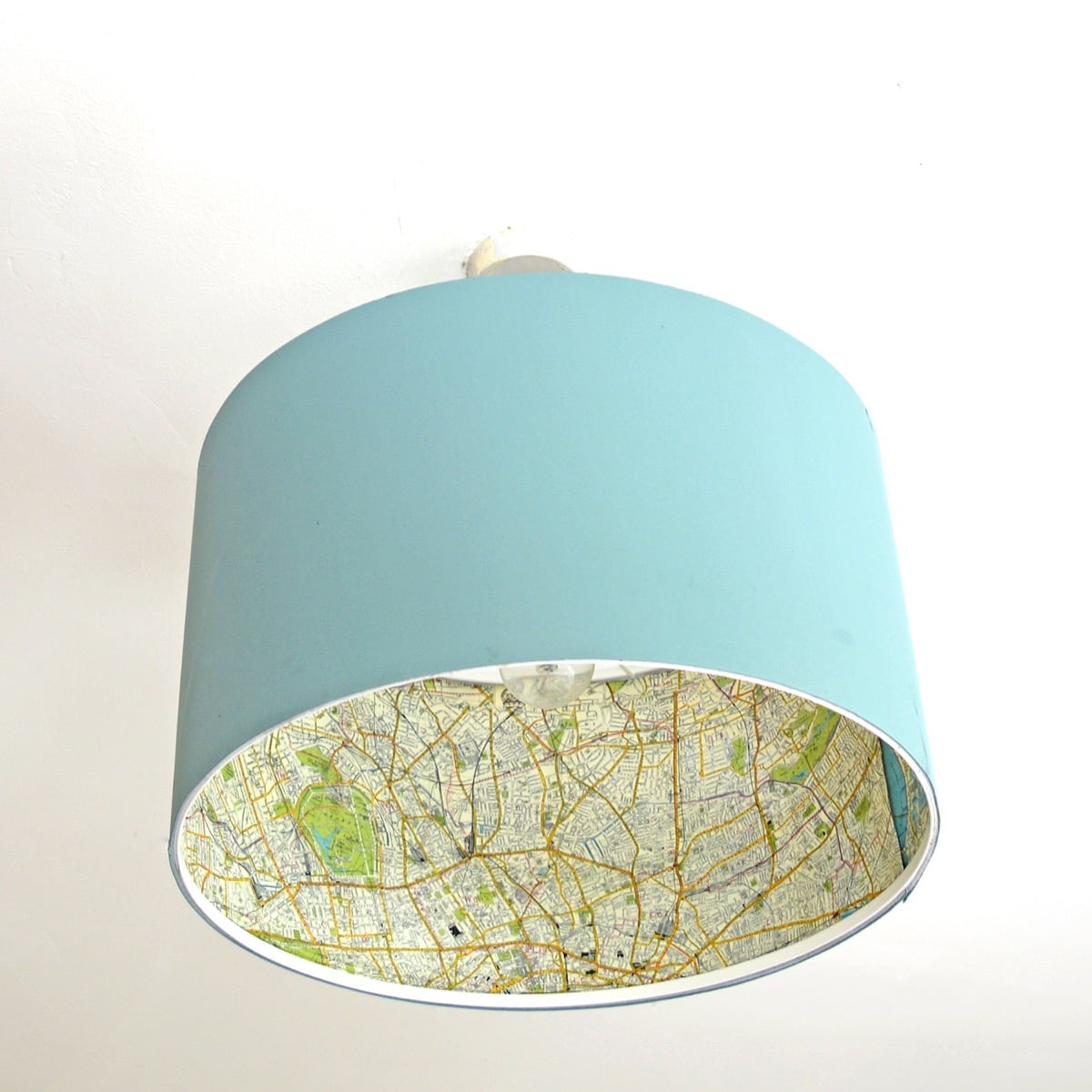 Easy But Gorgeous Ikea Lamp Map Hack Ikea Hackers Ikea