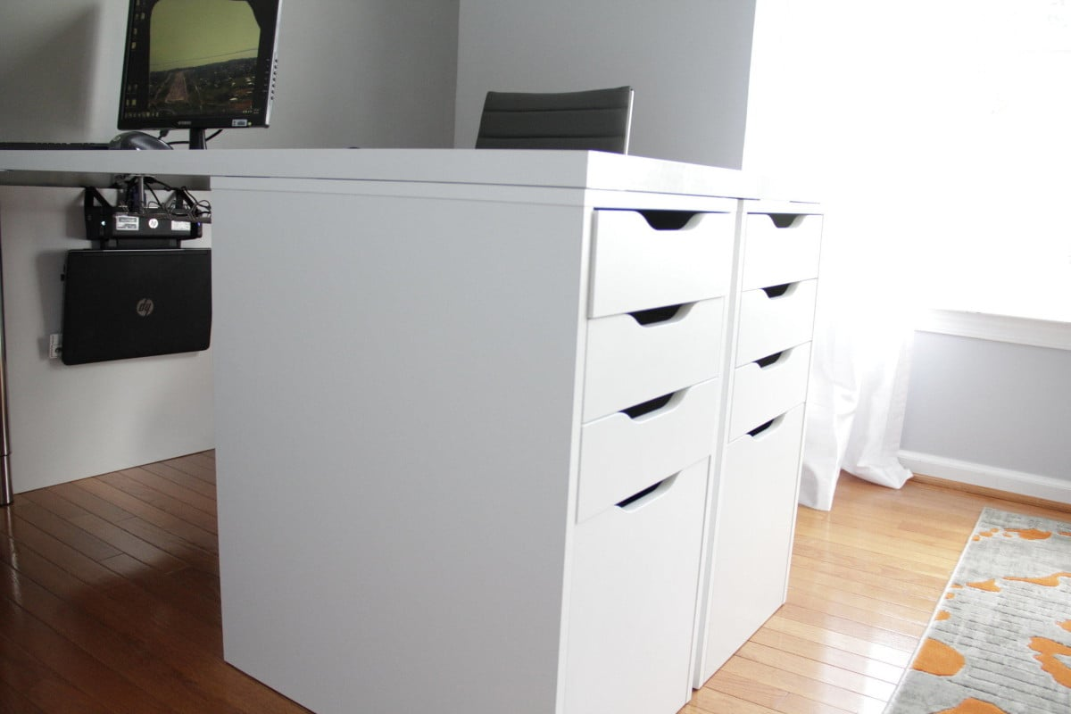ikea alex height without casters. Black Bedroom Furniture Sets. Home Design Ideas