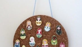 Disney pin corkboard-tn