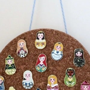 Disney pin corkboard-tn