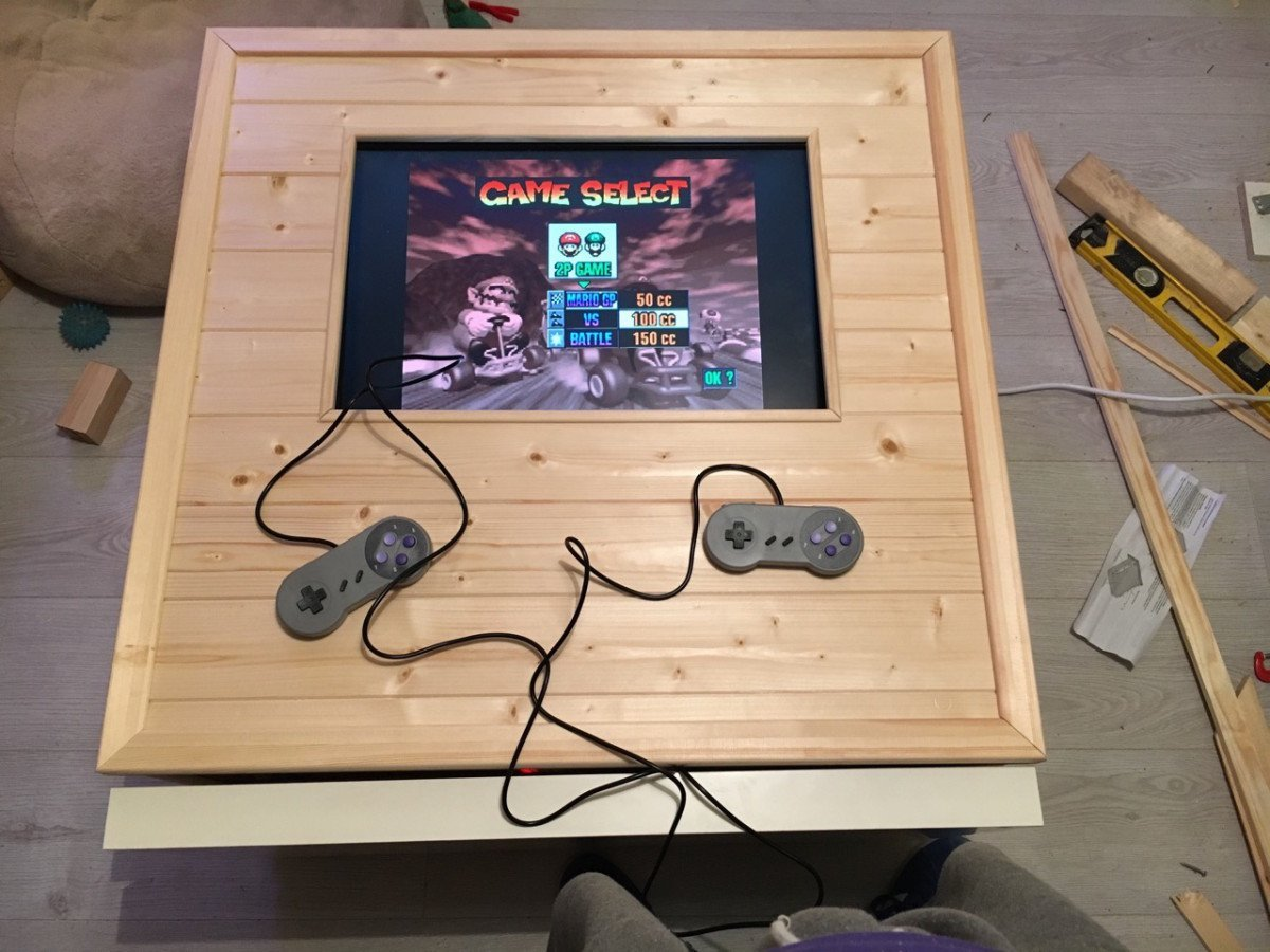 The eXpeditBOX An arcade coffee table IKEA Hackers IKEA
