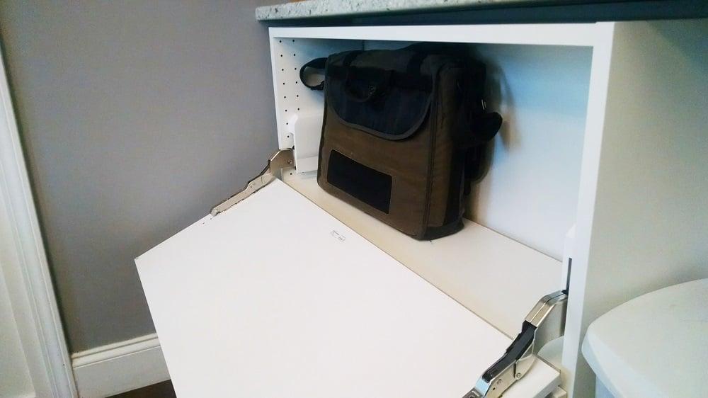 Ikea Sektion Cabinets Become A Storage Console Ikea
