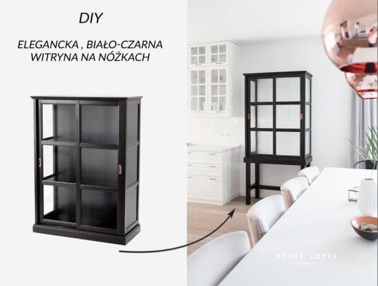 Upgrade IKEA MALSJÖ to elegant tall glass cabinet