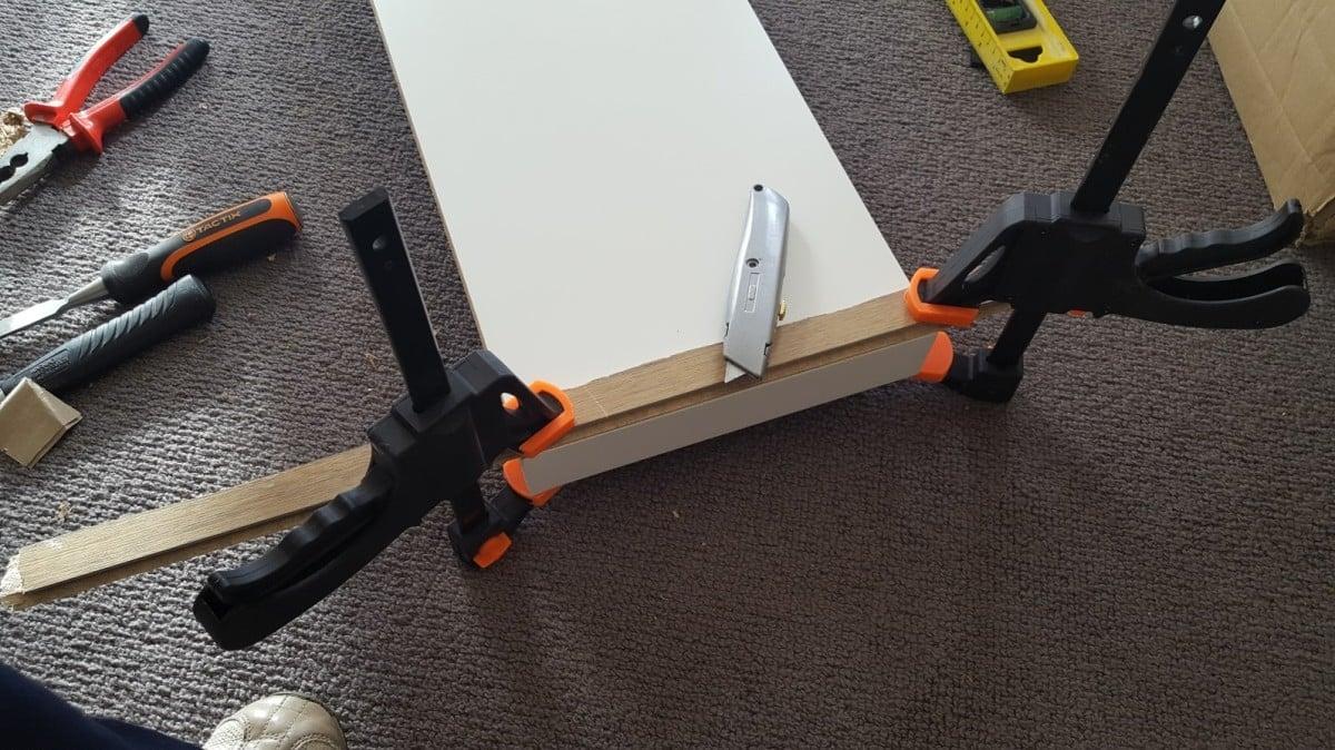 Ikea Lack Shelf Hack Creating A Custom Size Lack Shelf Ikea Hackers Ikea Hackers