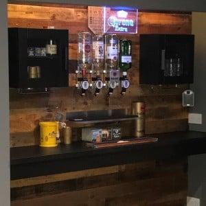 8-man cave bar