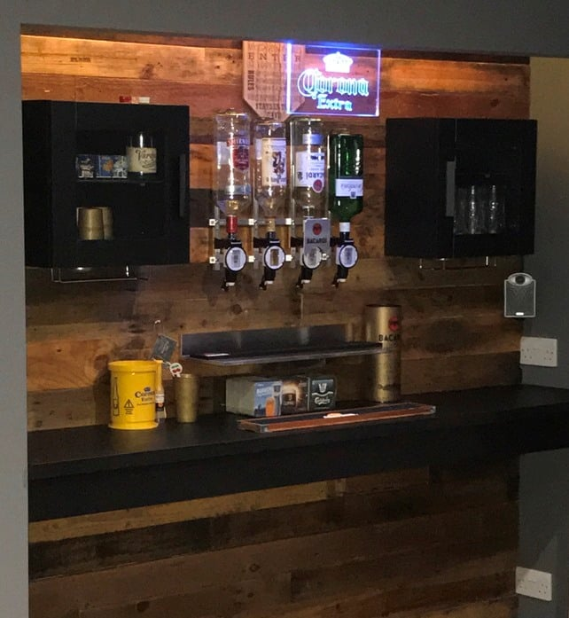 Man Cave Small Bar : Man cave bar ikea hackers