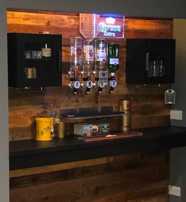Additional Items Used Not From Ikea 2 X Wine Gl Holders Ebay 1 Set Of 4 Bottle Optics Sets Led Under Cabinet Lights Poundland