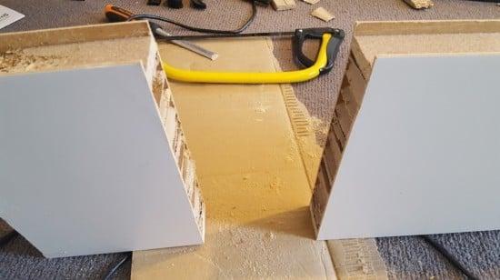 8-shortened LACK shelf