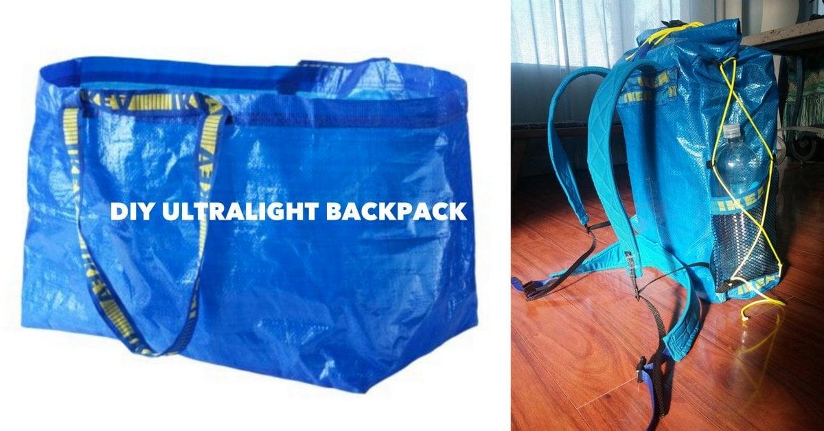 0f3b99be84 IKEA Ultralight Backpacking pack