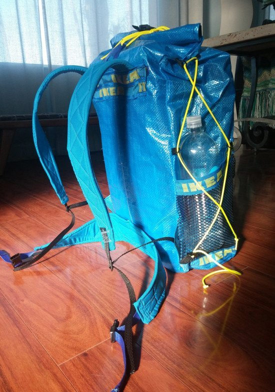 DIY IKEA Ultralight Backpacking pack
