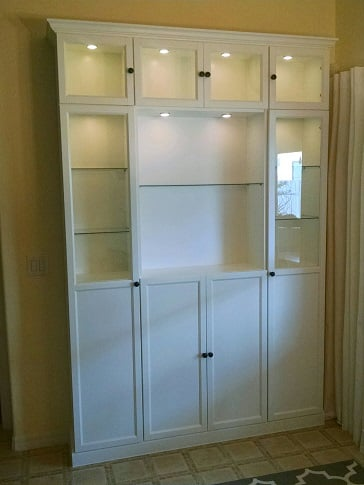 IKEA BILLY China Cabinet Hack - IKEA Hackers - IKEA Hackers