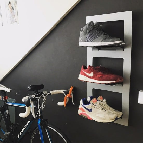Sneakerwall, SPONTAN magazine rack for sneakers
