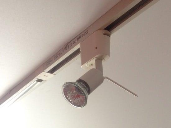 Inexpensive spotlights for SANDA lighting system