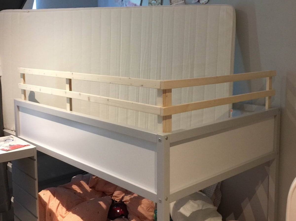 Kura Bunk Bed Hack For Two Toddlers Ikea Hackers