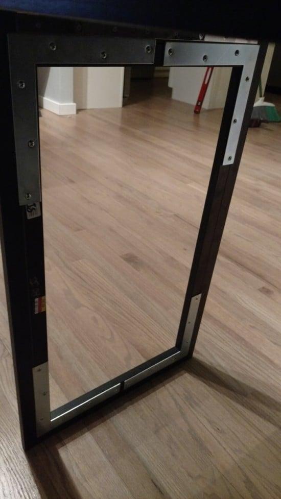 Foldable Office Desk Frame Detail