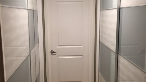 Pax Sliding Doors On Existing Condo Closet Ikea Hackers