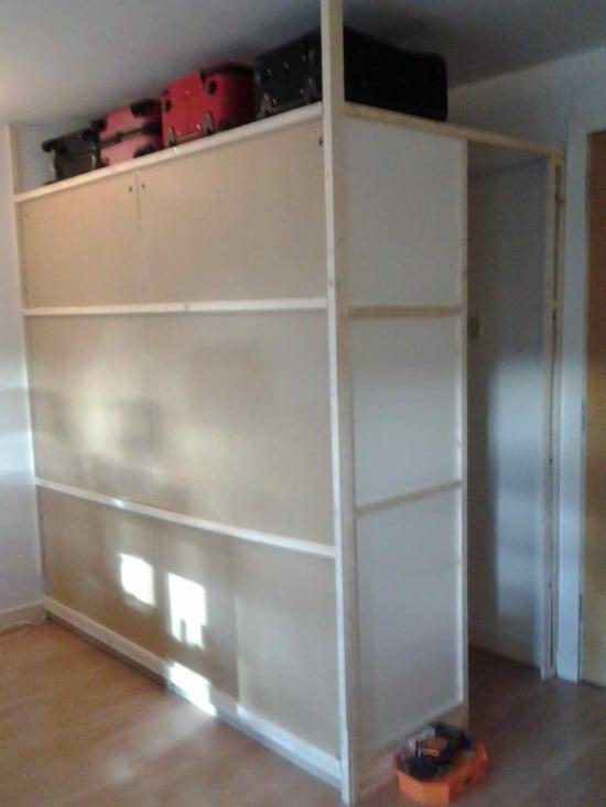 Pax walk in cupboard 1