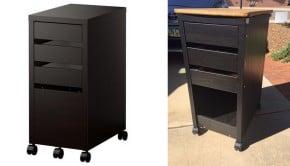 RV mobile cabinet IKEA MICKE