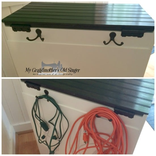 Rast hack extension cord storage