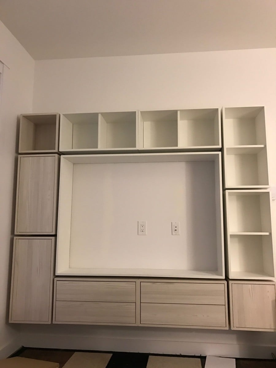 VALJE entertainment center - IKEA Hackers - IKEA Hackers