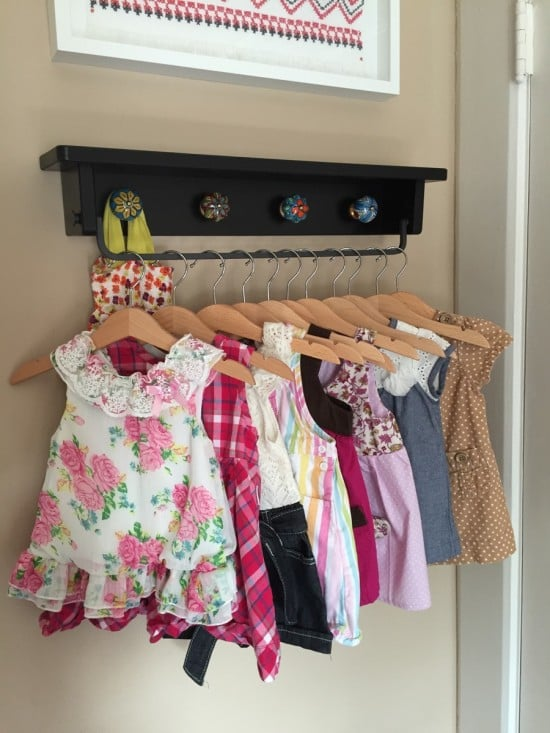 baby clothing rack-1