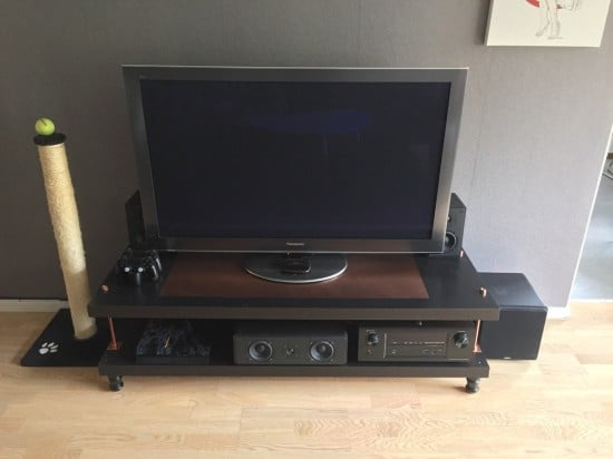 steampunk TV LACK rack-1