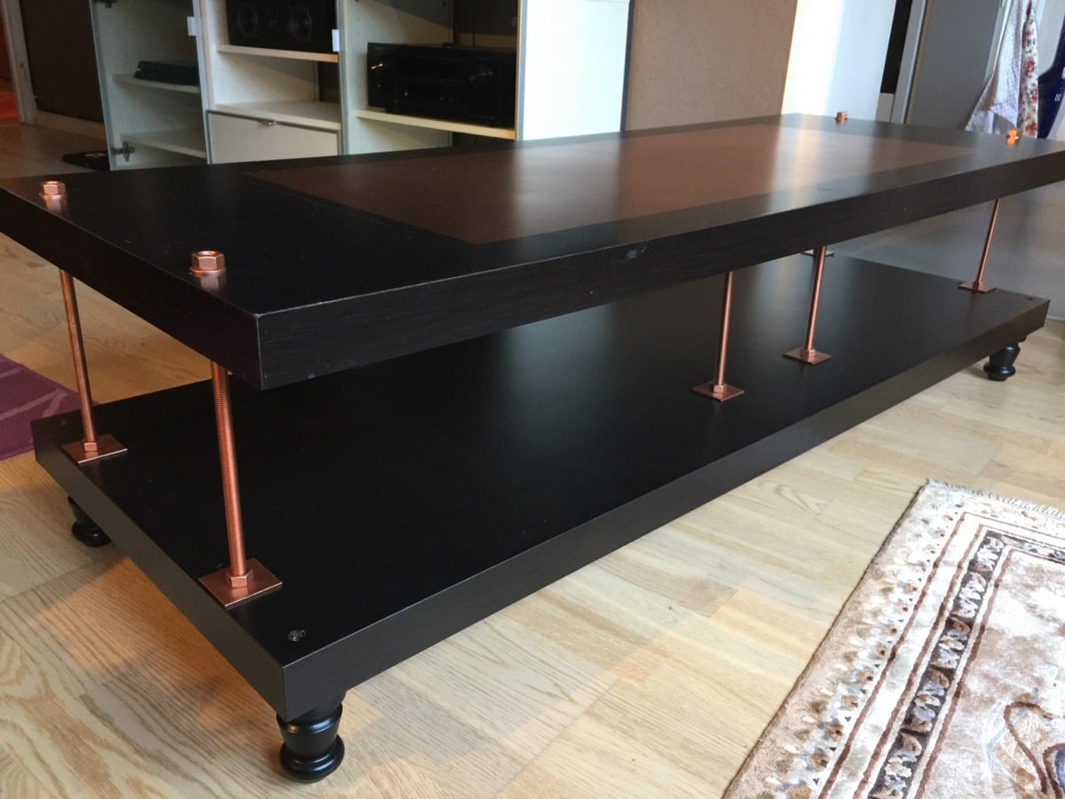 Industrial Steampunk Hack To The Lack Tv Stand Ikea