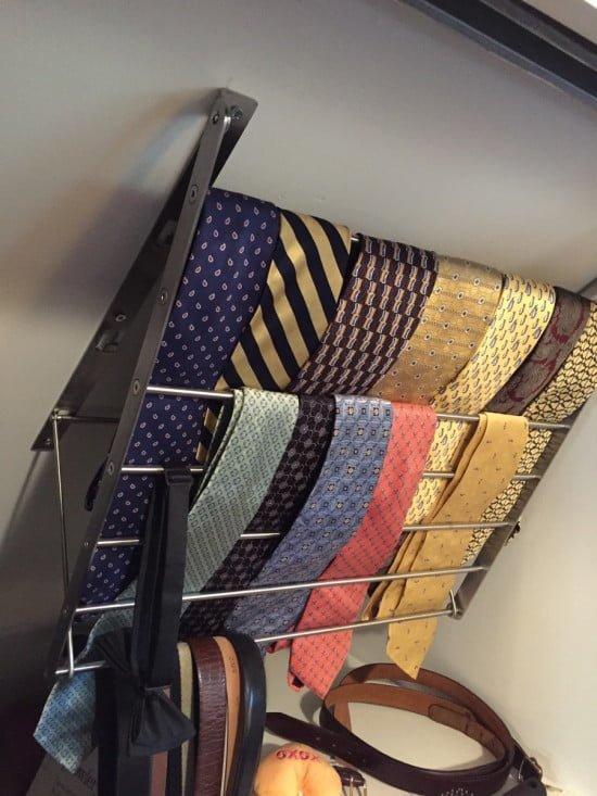 Tie Hanger For Sloping Roof Ikea Hackers