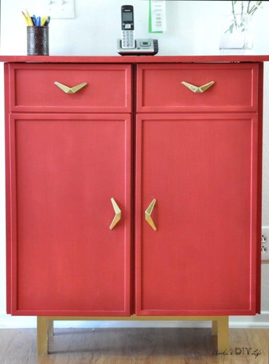 DIY Ikea Ivar cabinet makeover