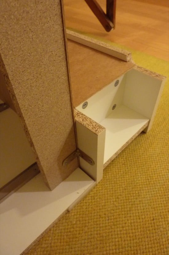 Baby Changing Table IKEA MALM Hack