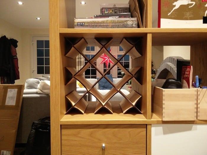 Ikea Kallax Wine Rack Insert For 9 12 Bottles Ikea Hackers