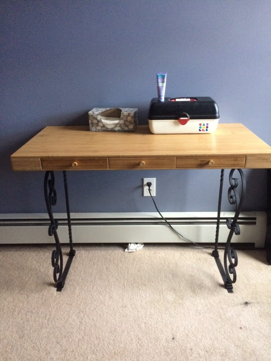 bamboo campaign desk with grande pine crawford faux colors pulls algiers custom