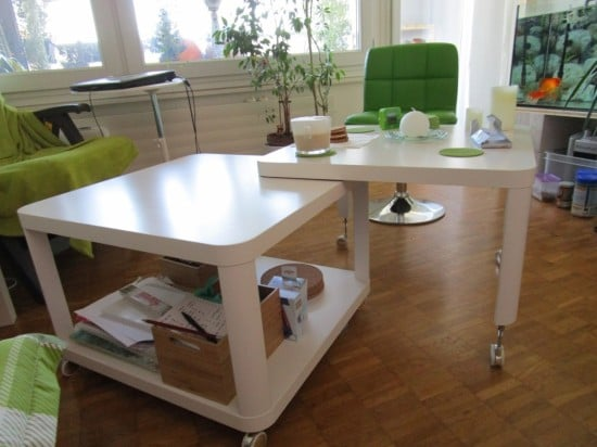 Double multi-position Tingby Coffee table
