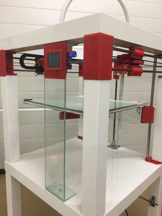 Printtable: 3D Printer DIY framework